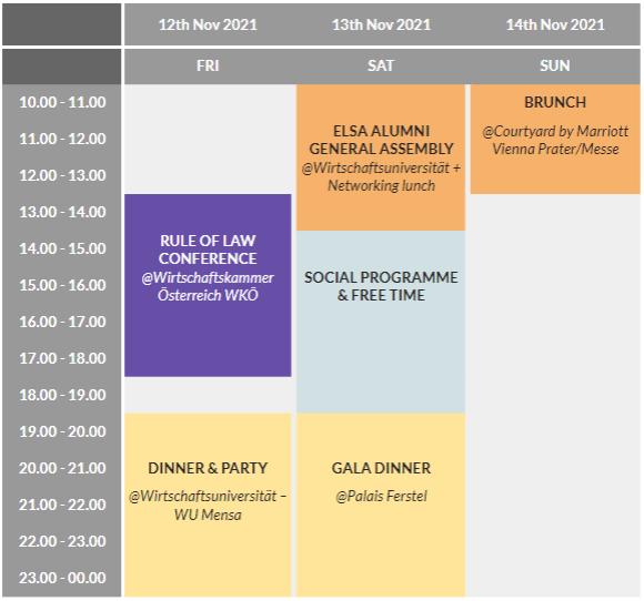 Schedule update ferstel